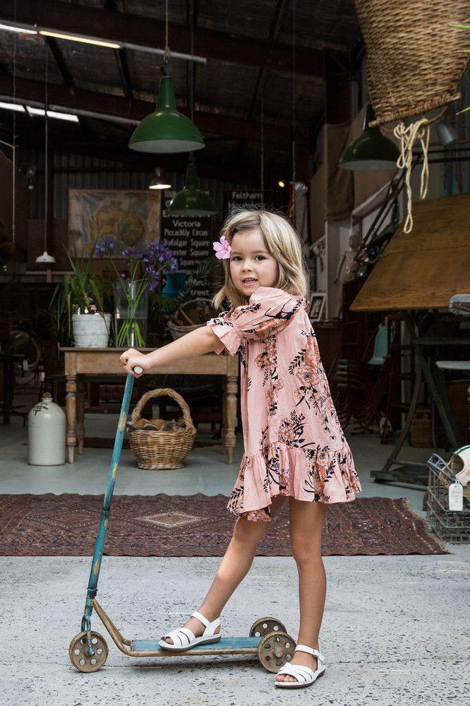 Immy Belle Dress Saffron - Arnhem Clothing//