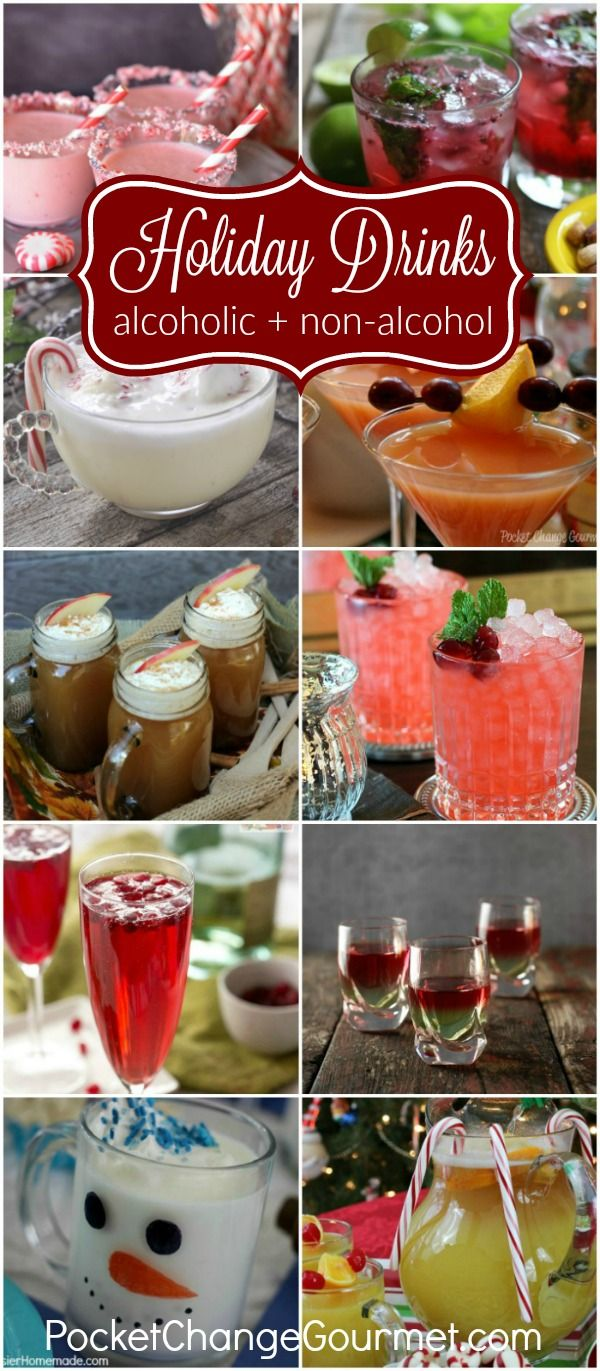Christmas Party Drinks Ideas Part - 28: Festive Holiday Drinks For Christmas And New Yearu0027s Eve · Christmas  CocktailsChristmas PartiesChristmas ...