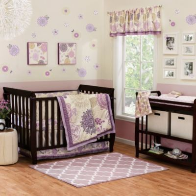 The Peanut Shell® Dahlia Crib Bedding Collection - buybuyBaby.com