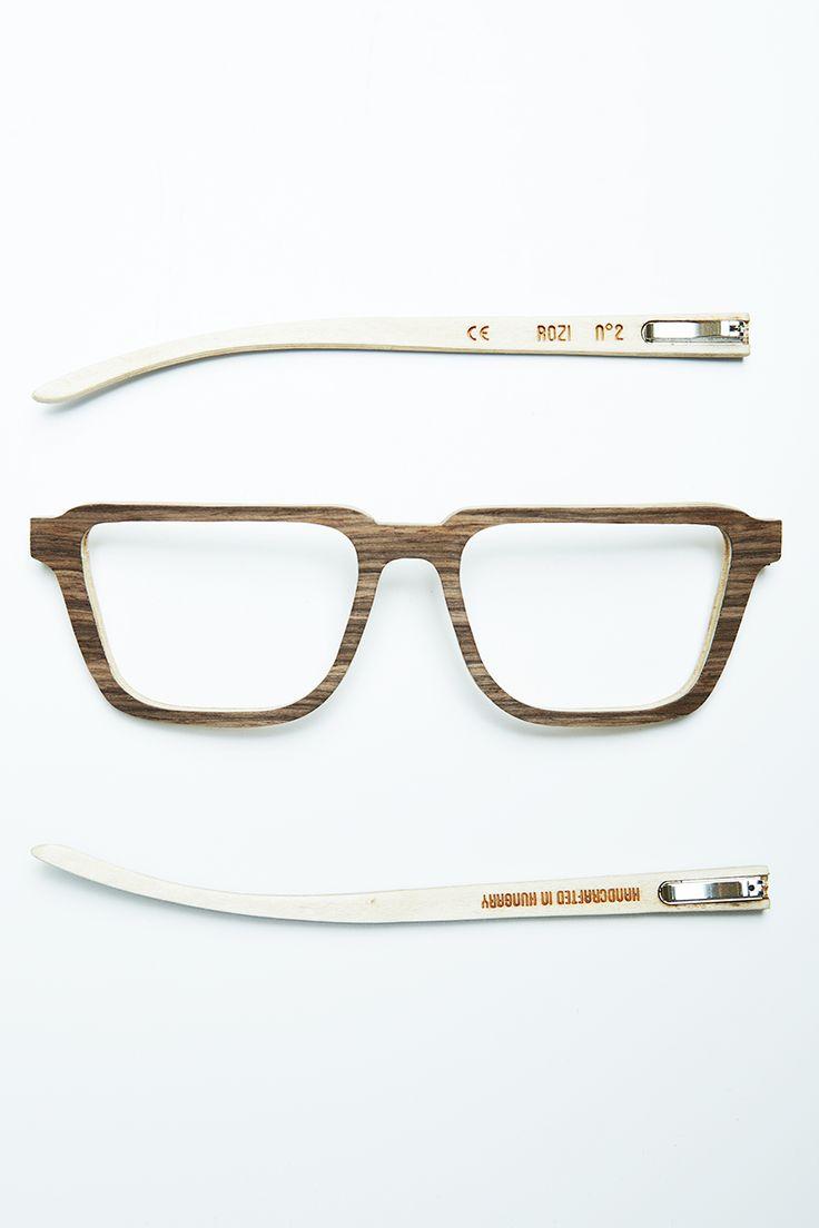No.2 Walnut, handmade, wooden sunglasses by Rozi Handcrafted Sunglasses