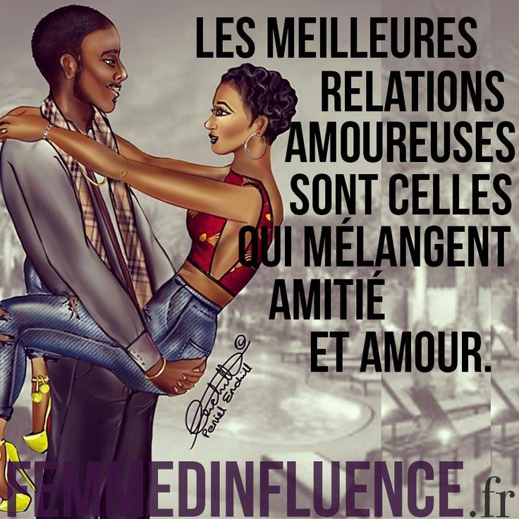 « Les meilleures relations amoureuses sont celles qui mélangent amitié et amour. » #citation #amour #love #amoureuse