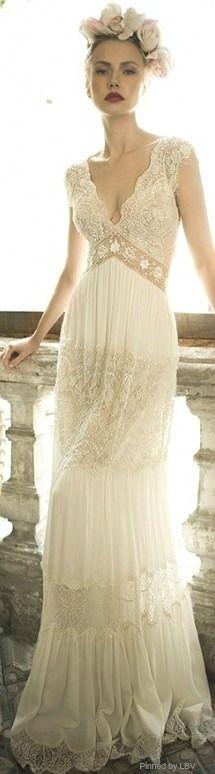 Un vestido maravilloso de Lihi Hod 2014. #vestidos #novia