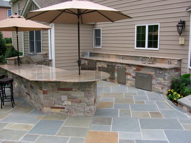 24 best images about outdoor bbg designs on pinterest for Stone outdoor kitchen designs