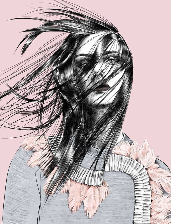 Fashion Illustrations by Rosalba Cafforio (1)