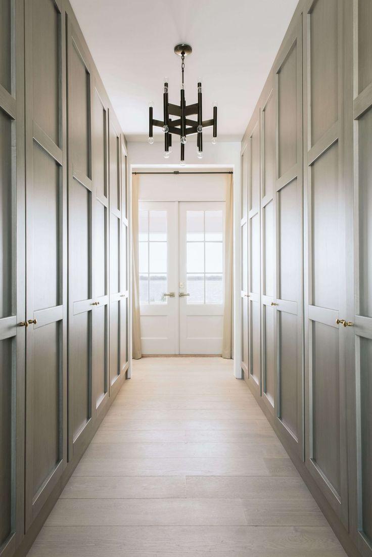 hallway closets Modern hallway, Hallway lighting