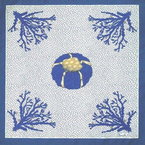 Beauville Aquarius Blue Napkin