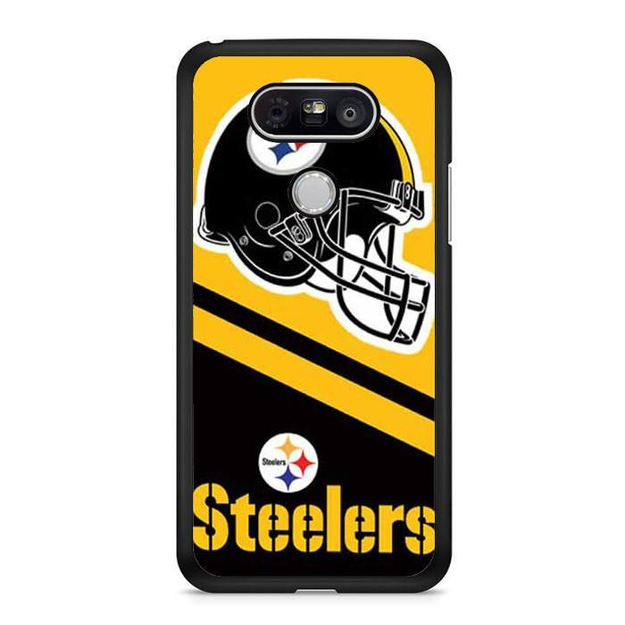 Pittsburgh Steelers Helmet Stripes LG G6 Case Dewantary