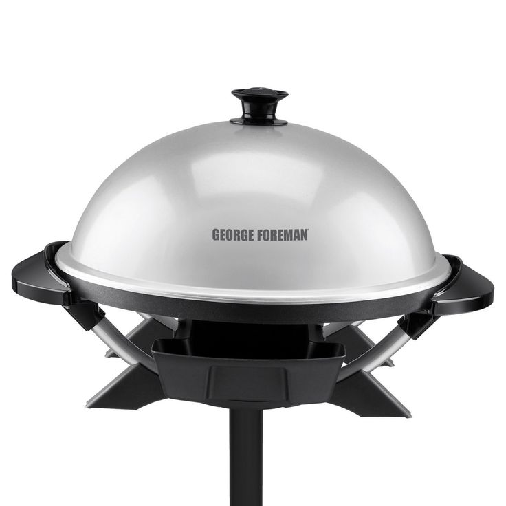 George Foreman GFO200S Indoor/Outdoor Electric Grill - 027043994561