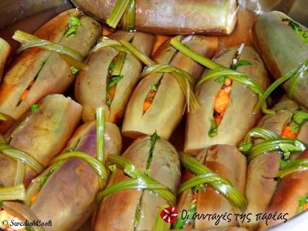 Μελιτζανάκι τουρσί #cookpadgreece