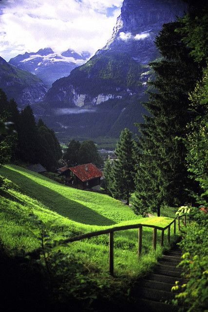 From Past To Present — Grindelwald, Switzerland Graham McKenzie