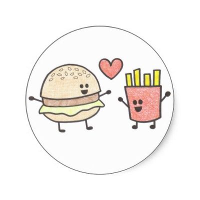 cute+fast+food+cartoons   fast junk food perfect junk food shirts posters and funny by cartoon ...