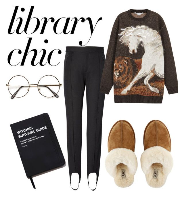 """""""Library chic"""" by ralugoii on Polyvore featuring STELLA McCARTNEY, UGG, Killstar and finals"""