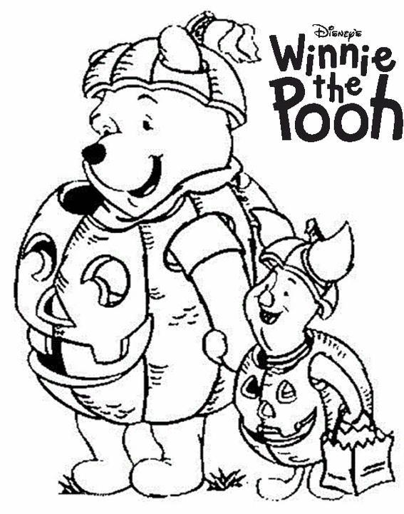 Fascinating Disney Winnie The Pooh Halloween Coloring Pages Halloween Coloring Pages Disney Halloween Coloring Pages Cute Coloring Pages