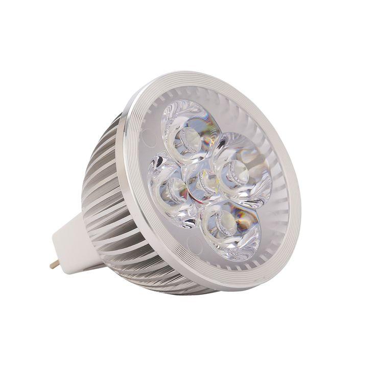 4pcs/lot 12VDC  4W MR16 Energy Saving led spot light bulb lamp use for ceiling Free Shipping