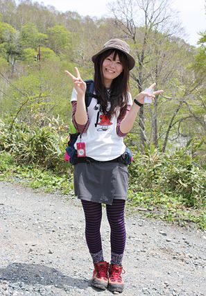 Yama (Mountain/Hiking) girl fashion