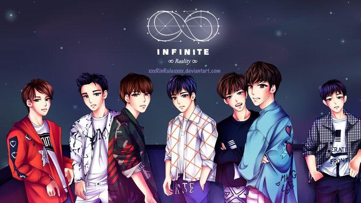 never stop loving these anime guys #infinite #sunggyu #dongwoo #woohyun #hoya #sungyeol #myungsoo #sungjong