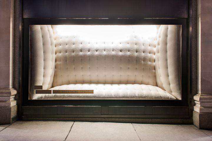 Selfridges breathing window by Studio Souffle, London
