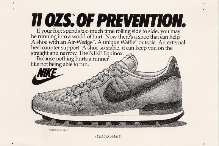 Nike Equinox Advertisement 1984 Nike Inc Free Download Borrow And Streaming Internet Archive In 2020 Nike Retro Vintage Nike Nike Poster