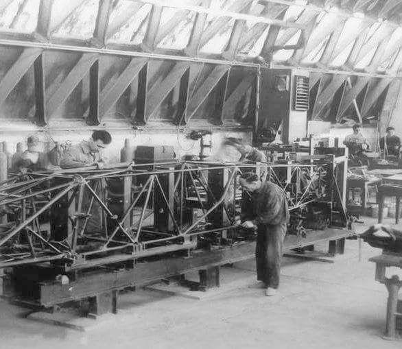 Tayyare ve Motor Türk Anonim Şirketi (TOMTAŞ) Kayseri uçak fabrikası (1927)
