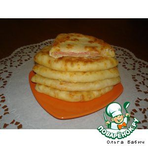 Cheese tortillas  in 5 minutes (rus)