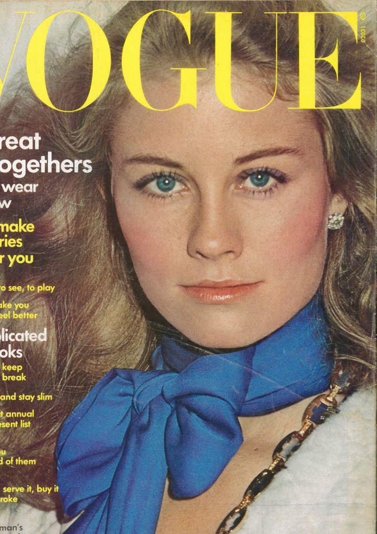 Cybil Shepherd  -  Vogue US 1973