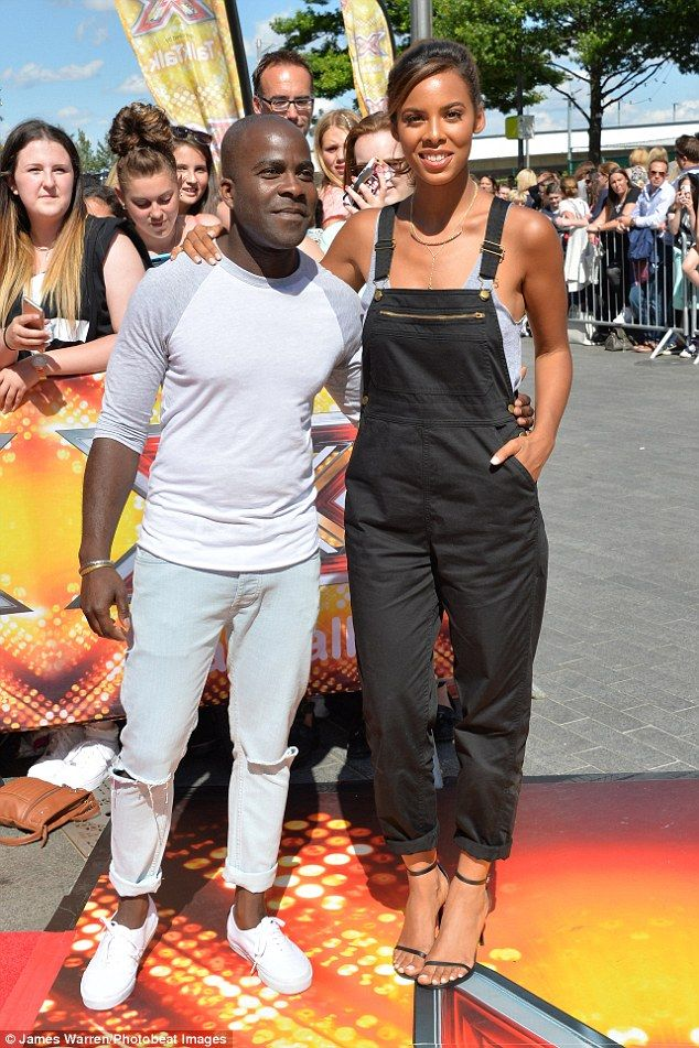 Co-captains and co-hosts too: The singer - who first shot to fame as a member of S Club 8 - was accompanied by Sweat The Small Stuff captain and fellow Xtra Factor presenter, Melvin Odoom, 34