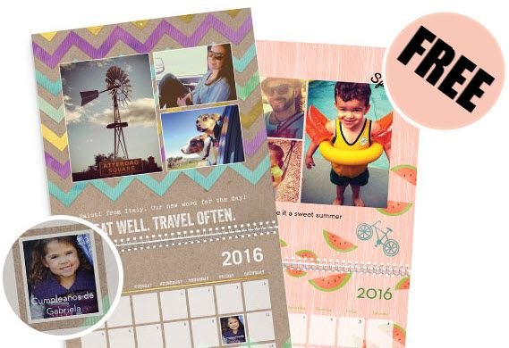 Shutterfly: FREE Custom Calendar - Just Pay Shipping **New & Existing Users** - http://www.swaggrabber.com/?p=280226