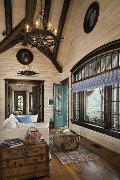 White Log Stain. ... We offer over 70 standard colors for staining log homes inside, outside, including decks. ~ jack