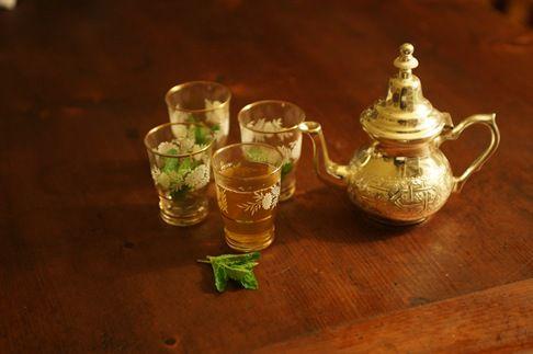 Profumo di menta… | tè alla menta marocchino