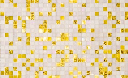 14 best Yellow and White Gold glass mosaic images on