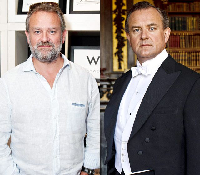 Hugh Bonneville as Robert Crawley: Whether he's buttoned-up in white-tie or kicking back in a button-down, Bonneville, 49, always looks distinguished.
