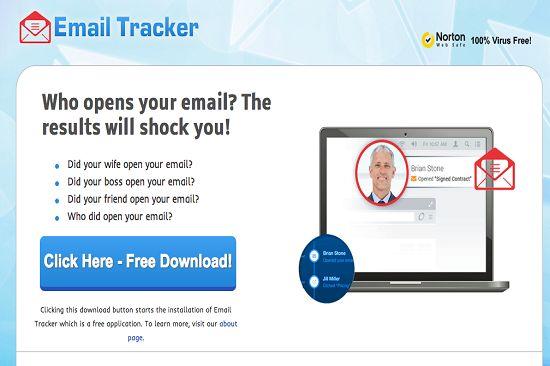 Email Tracker Ads est un programme publicitaire périlleux développé par les escrocs et les cyber-criminels à cibler les millions d'ordinateurs et mal corrompre.