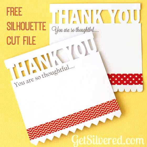 Thank You Card – Free File Friday