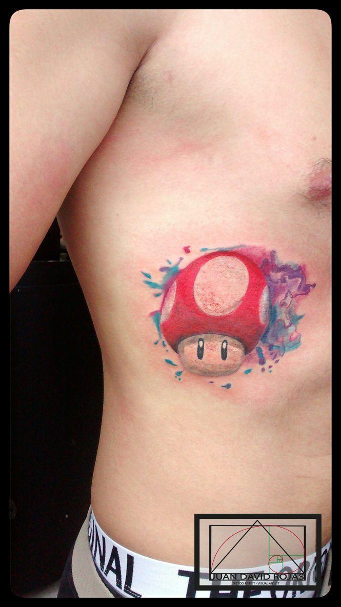 Tattoo Hongo Mario Bross