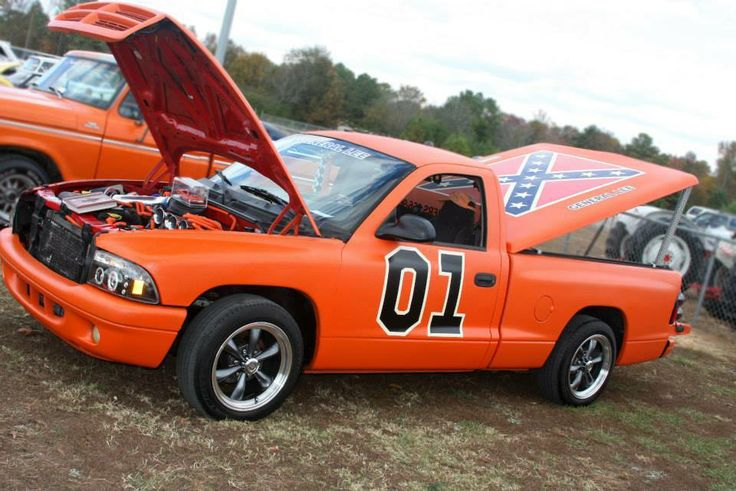not the general lee dodge pick up not the general lee. Black Bedroom Furniture Sets. Home Design Ideas