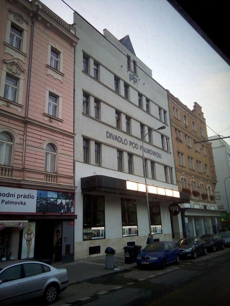 El teatro Divadla Pod Palmovkou