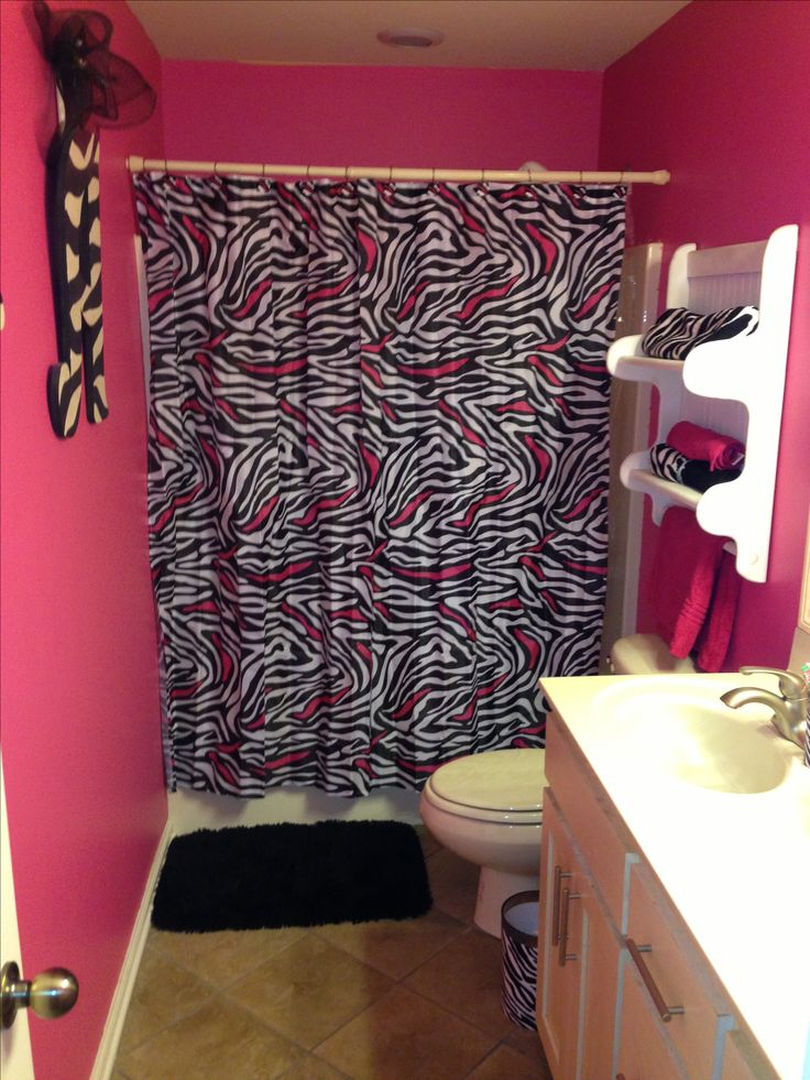 Zebra bathroom