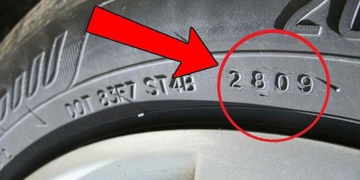 Voici comment éviter de vous faire arnaquer en achetant un pneu trop vieux! - Les Autos
