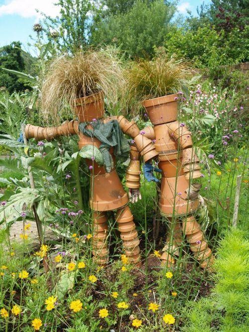 Clay+Pot+People | flower pot people..kinda weird