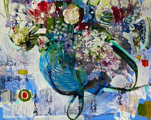Maryann Hendriks, 'What Sorcery Is This?', 24'' x 30''   Galerie d'art - Au P'tit Bonheur - Art Gallery