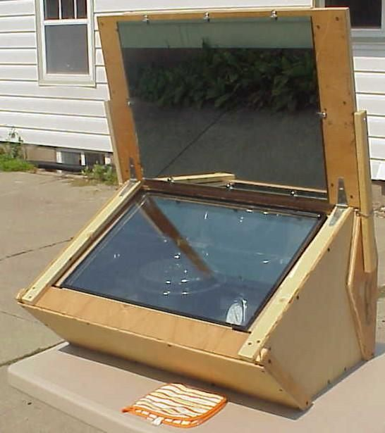 Solar Oven and other things to make yourself to be prepared