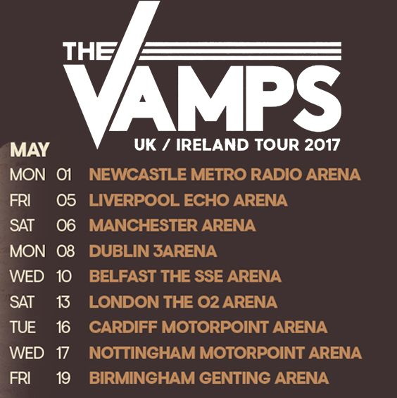 | DISNEY STAR WILL BE TOURING WITH THE VAMPS ! | http://www.boybands.co.uk