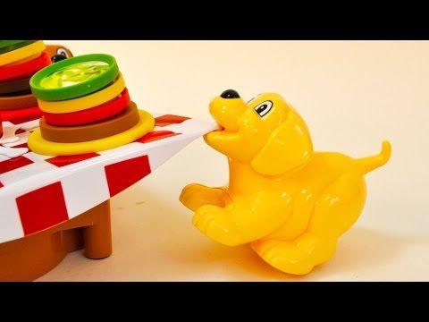Hamburguesas a la Mesa un Juego Infantil   Juguetes Interactivos - YouTube