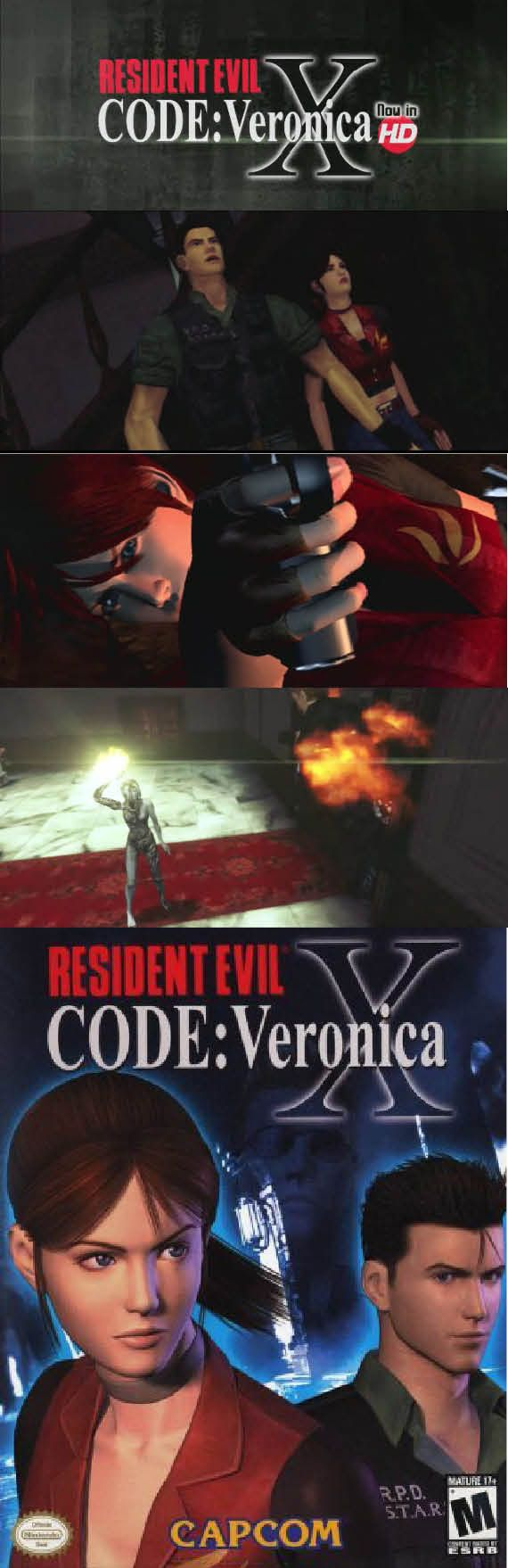 #ResidentEvil Claire finally finds Chris in #CodeVeronica. #RetroGamer http://www.levelgamingground.com/resident-evil-code-veronica-review.html