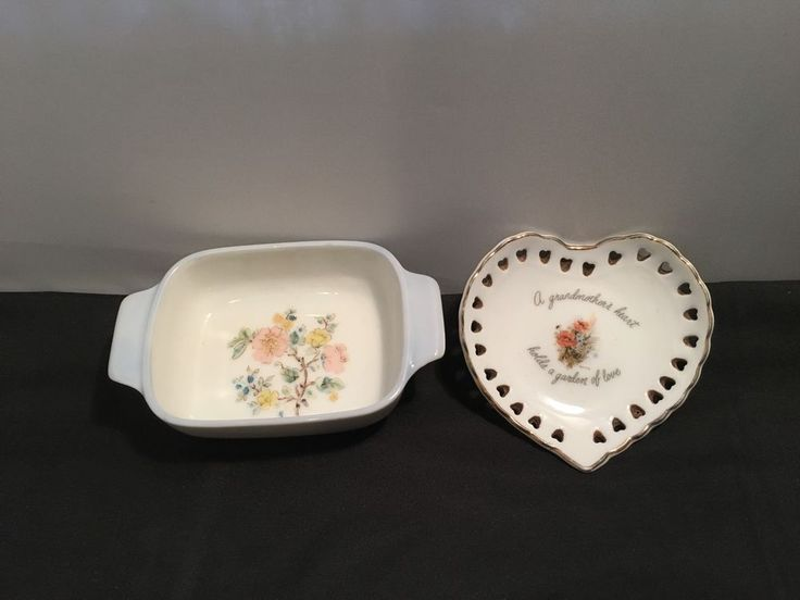 Made in Japan – 2 pcs Small Collectable Dishes ( Robert Laessig Heart Shape+ 1)  in Collectables, Homeware, Kitchenware, Decorative Ornaments | eBay!