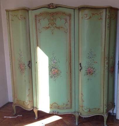 Mobile armadio antico Barocco Veneziano