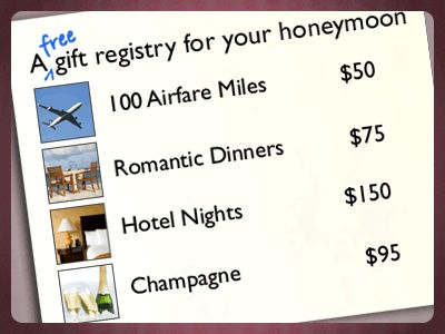 Honeymoon Fund - https://www.honeyfund.com  What a great website for couple that may need a bit more to spend on their honeymoon! HoneyFund. Another fab company and partner with #SomethingWonderful