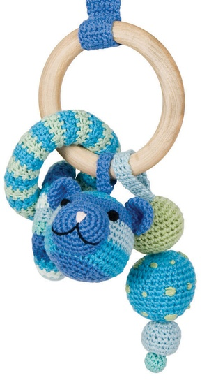 Crochet Mobile for Car Seat - no pattern, but easy enough to duplicate