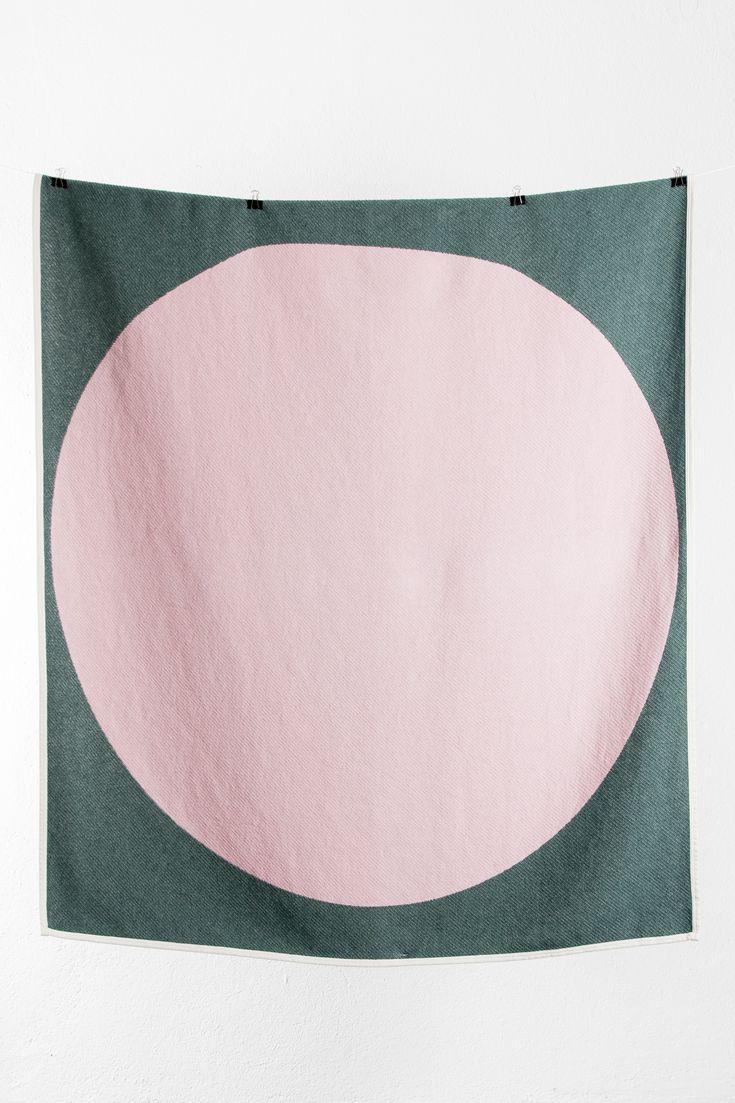 Zig Zag Zurich cotton blanket