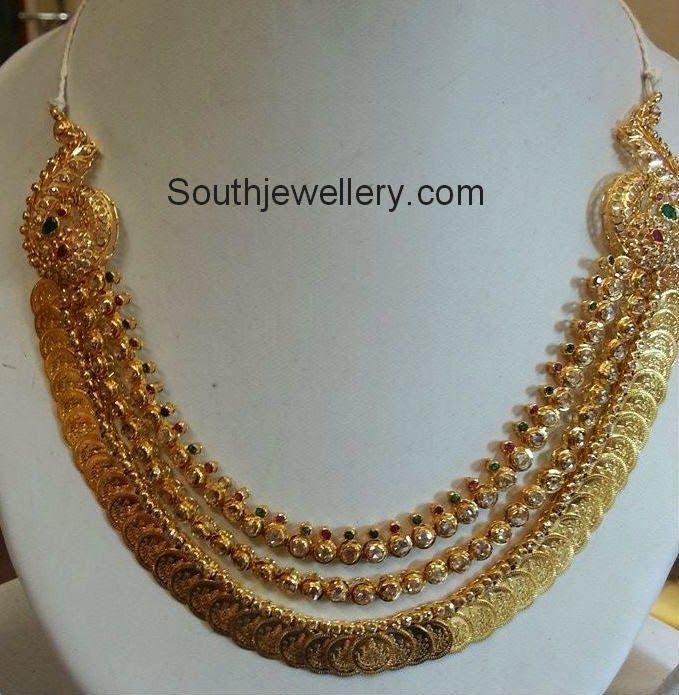 latest kasulaperu necklace designs